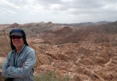 Rainbow hills (LeelooDallas) Tags: asia china gansu zhangye national geopark linze rainbow mountains rock landscape strata dana iwachow dragoman silk road trip overland august 2018 daxia sandstone mountain sky canyon mountainside steve
