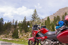 Travel (DOCESMAN) Tags: moto motorcycle bike mountain montaña nature honda nt700v deauville paisaje landscape pirineos pyrenees