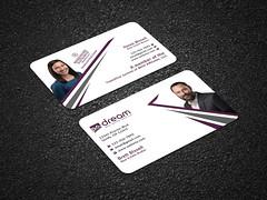 I Will Do Create Standard Business Card, Business Card Design (mdazaduddin) Tags: businesscard stationary brandidentity businesscarddesign card