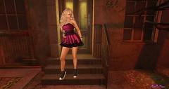 SALTY ! Spinderella Dress. (PinkangelIndigo) Tags: ascendant avaway backdropcove baxe bootysbeauty catwa cs elise maitreya salty tukinowaguma
