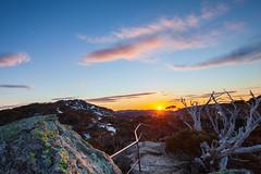 Sunrise, Charlotte's Pass (Rod Burgess) Tags: 5dii charlottepass kosciuszko nsw sunrise canon5dmkii canon1635f4l dawn kosciuszkonationalpark mountains