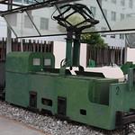 Locomotora eléctrica Duro Felguera. DF Dufel 1000 Mosquitera Nº 2