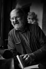 Willem the raconteur (paul indigo) Tags: paulindigo beard belgian book man portfolio portrait story