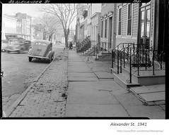 1941  Alexander st. (albany group archive) Tags: 1940s old albany ny history historic historical photos photographs pictures vintage