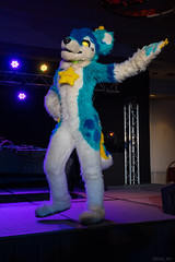 DSC09101 (Kory / Leo Nardo) Tags: pacanthro pawcon paw con pac anthro convention fur furry fursuit suiting mascot sona fursona san jose doubletree hotel california dance party deck animals costuming pupleo 2018