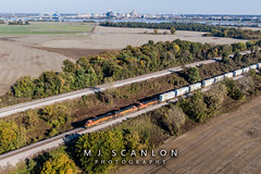 BNSF 6887 | GE ES44C4 | BNSF Thayer South Subdivision (M.J. Scanlon) Tags: 265 bnsf5321 bnsf6887 bnsf7021 bnsfqauglac bnsfthayersouthsubdivision business c449w capture cargo commerce dji digital drone es44c4 engine freight ge haul horsepower image impression landscape locomotive logistics mjscanlon mjscanlonphotography mavik2 mavik2zoom memphis merchandise mojo move mover moving ns265 outdoor outdoors perspective photo photograph photographer photography picture qauglac quadcopter rail railfan railfanning railroad railroader railway scanlon steelwheels super tennessee track train trains transport transportation view wow ©mjscanlon ©mjscanlonphotography proctor arkansas unitedstates us