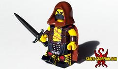 October Patreon Reward Minifig (Saber-Scorpion) Tags: lego minifig minifigures moc brickarms wulfgard knightfall patreon