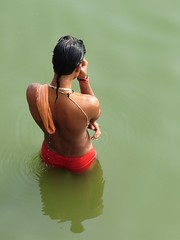 varanasi 2017 (gerben more) Tags: man varanasi benares india ganga ganges water