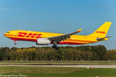 DHL D-ALMA (TD) (U. Heinze) Tags: aircraft airlines airways airplane planespotting plane flugzeug haj hannoverlangenhagenairporthaj eddv nikon