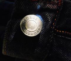 Unbuttoned (Redux2018) (shercredeur) Tags: macro hmm macromondays redux2018 lowkey button jeans