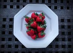 Fresh. (Papa Razzi1) Tags: strawberries strawberry march sweden spring