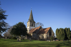 Datchworth (Roger.C) Tags: church village churches allsaints datchworth hertfordshire herts beautiful england trees graves spire old history bluesky graveyard country religion nikon d610 tamron 2470 daysout holiday