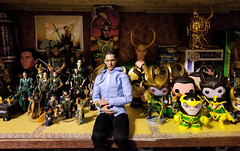 Updated Loki Lair (Black Rose Bride) Tags: loki collections toys actionfigures funkopop hottoys marvel minimates lego