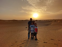Sunset in the Dubai Desert (Ankur P) Tags: uae dubai olddubai souk souq desert arab emirates sunset