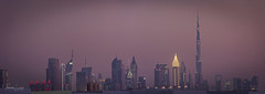 Dubai Skyline at Night (Thomas Louis) Tags: uae dubai skyline cityscape skyscraper night panorama burjkhalifa