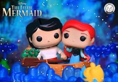 Happy 29th Anniversary The Little Mermaid ♀️   🎶 Sha la la la la la My oh my look at the boy's too shy ain't gonna kiss the girl... 🎶 (PrinceMatiyo) Tags: disneyprincess disney popvinyl funko toyphotography ariel princeeric kissthegirl littlemermaid