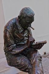 Sitting (jp-l) Tags: statues termoli italy