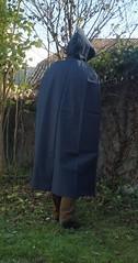 VinylCape-blue-3 (Umhaenge2010) Tags: cape umhang cloak pèlerine pelerin peleryna raincape capeimperméable regencape