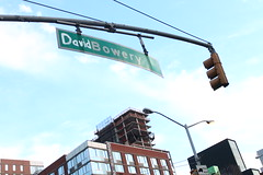 David Bowie Tribute (agent j loves nyc) Tags: ripdavidbowie davidbowery davidbowie streetsign nyc newyorkcity