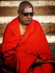 "A Sadhu Meditating At Dawn (El-Branden Brazil) Tags: varanasi india indian ganges ganga ceremony hindu hinduism asian asia sacred holy mystical ""south asia"" sadhu happyplanet asiafavorites"