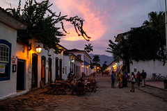 """The day is over and the night is young"" Paraty, Brasil (MUDILANE) Tags: paraty rj brasil leica leicam mlazarevphoto martinlazarev colors tropical litoral brazil ocean praia antigo calor hot travel street streetphotography life"