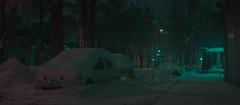 Neon winter. (igor.relsov) Tags: shots cineminer nightphotography lamp car cars streets mystic cinematography street streetphotography night light cinematic cinema strange evening photography