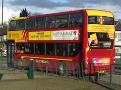 Natioonal Express West Midlands bus 6117 (photobobuk - Robert Jones) Tags: nationalexpress westmidlands bus 6117 11service newcolours transport travel yardley public birmingham uk outercircle