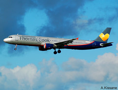 THOMAS COOK A321 LY-VED (Adrian.Kissane) Tags: 3334 a321 thomascook shannon lyved 1112018