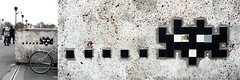 Space invader [Paris 16e] (biphop) Tags: europe france paris streetart space invader spaceinvader mur wall installation mosaic mosaique reactivation reactivated restored restauré réactivé 75016 pa253