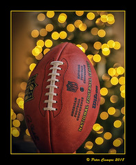 Are You Ready For Some Bokeh? (Peter Camyre) Tags: nfl national footbal league football bokeh christmas tree lights beautiful pretty flickr canon peter camyre 5d mkiii