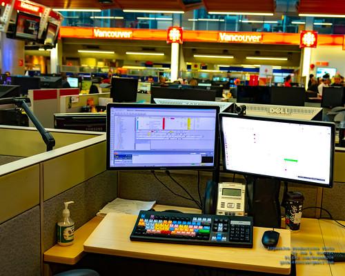 A CBC Vancouver Producer's Workstation