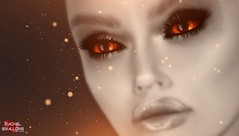 The Fire Within (Rachel Swallows Inworld Elenamicheals Core) Tags: eyes makeup mesh catwa omega themakeoverroom secondlife fashion devil witch mystical demon demoness hell satan satanic fantasy rachelswallows