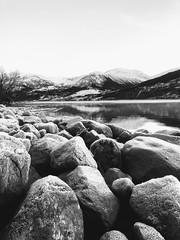 Frost -|- Frosty rocks (erlingsi) Tags: erlingsi iphone erlingsivertsen frost rocks lake jølster sunnfjord