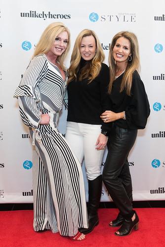 Amanda Carr, Courtney Moehler, Kelia Powell