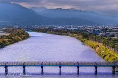 Dong Shan (Fountain_ofPeace247) Tags: landscape water bridge raw nature natur natural river asia asian taiwan beauty mountains clouds sunny cloudy yilan dongshan flickr