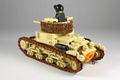 Carro Armato M14/41 (Rebla) Tags: lego carro armato m1441 tank italian italy world war ii 2 wwii ww2 rebla north africa
