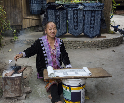 B25A1236 Hill Tribe Resident - Chiang Mai, Thailand