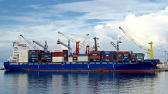 Container Ship (chartan) Tags: containership workingboats frenchpolynesia papeete