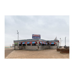 Diner (John Pettigrew) Tags: lines tamron d750 nikon diner restaurant empty perspective mundane documentary topographics norfolk great banal yarmouth johnpettigrew spaces colours deserted angles seafront imanoot documenting cafe