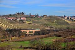 L'Italia in treno (Paolo Brocchetti) Tags: paolobrocchetti treno ferrovia bahn rail piemonte asti canelli d445 centoporte trenitalia nikon d810 24120