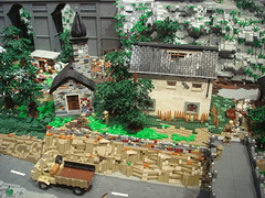 DSC05034 (fdsm0376) Tags: lego exposition madrid 2018 castle roma winter village city ww2