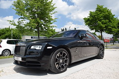 Rolls-Royce Wraith Black Badge (D's Carspotting) Tags: rollsroyce wraith black badge belgium sintmartenslatem sml 20180511 iio 110