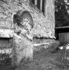 Worn (4foot2) Tags: gravestone graves graveyard worn church stpeterschurchardingly stpeterschurch ardingly analogue film filmphotography 120film mediumformat hasselbladski kiev kiev88cm 88cm киев88cm ukrainiancamera mir38bf3565mm mir38b f3565mm yellowfilter oldfilm outofdatefilm expiredfilm experimental bw blackandwhite monochrome mono hc110 kodakhc110 kodak tmax kodaktmax tmax100 2019 fourfoottwo 4foot2 4foot2flickr 4foot2photostream мир мир38в