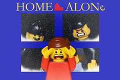 LEGO Home Alone (40gOingOn4!) Tags: lego minifigures minifigure movies movie home alone toys toy uk macro nikon d7100 105mm robert rob trevissmith