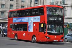 LJ17 WRG (MV38206) Tower Transit (hotspur_star) Tags: londontransport londonbuses londonbus londonbuses2018 mcvvolvoevoseti tfl transportforlondon hybridbus hybridtechnology busscene2018 doubledeck towertransit lj17wrg mv38206 13