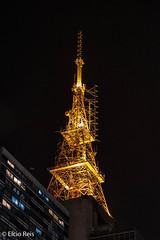 Television tower on Paulista Avenue (elcio.reis) Tags: noturna night torre paulista nikon sãopaulo nocturnal tower brazil br