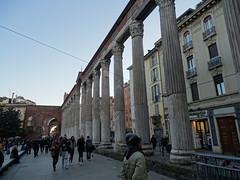Milano (39) (pensivelaw1) Tags: italy milan statues trump starbucks romanruins thefinger trams cakes architecture