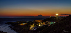Mt Fuji at sunset (aotaro) Tags: ilce7m3 fujisan kanagawa sunset fe424105goss mtfuji le lighthouse longexposure jogashima jogashimaisland island