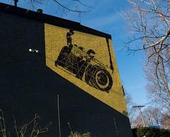 Mural at 6th Street West Apartments in Lexington, Kentucky  . (A  Train) Tags: nikond750 nikon tamronsp1530mmf28 tamron wideangle mural lexingtonky lexington kentucky 6thstreetapartments jessicakemmer