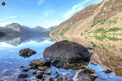 Wast Water (alundisleyimages@gmail.com) Tags: cumbria wastwater wasdale england landscape lake thelakedistrict thelakes reflections mountains summer hiking climbing walking rocks thegreatoutdoors adventure outdoorpersuits northernengland tourism peaks challenge freshair countryside publicplaces nationalparks